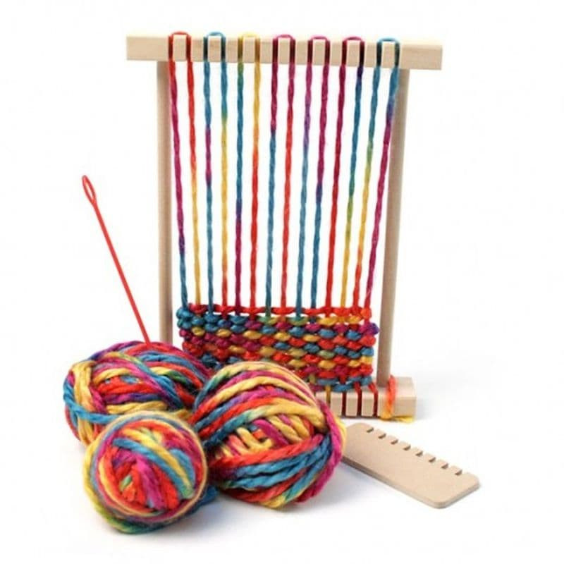 Макет для плетения