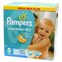 Подгузники Pampers Active Baby-Dry Junior 11-18 кг 126 шт (5)