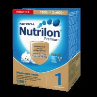 Детская молочная смесь Nutrilon Premium 1 1200 г с 0 мес