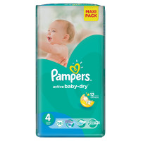 Подгузники Pampers Active Baby-Dry Maxi 7-14 кг 58 шт (4)