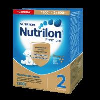 Детская молочная смесь Nutrilon Premium 2 1200 г с 6 мес