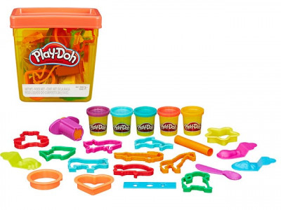 Набор пластилина Hasbro Play Doh Контейнер с инструментами B1157