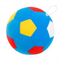 Игрушка Мякиши Мяч Футбольный с погремушкой 441