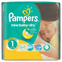 Подгузники Pampers New Baby 2-5 кг 27 шт (1)
