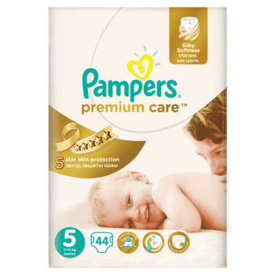 Подгузники Pampers Premium Care Junior 11-18 кг 44 шт (5)