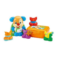 Развивающая игрушка Fisher-Price Смейся и учись Наряди щенка DRH53