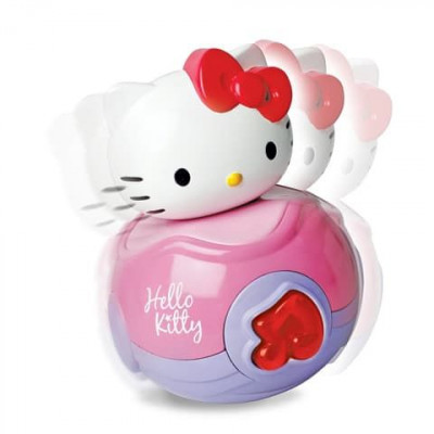 Неваляшка HELLO KITTY со звуком 6501