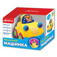 Развивающая игрушка АЗБУКВАРИК Музыкальная машинка в ассортименте