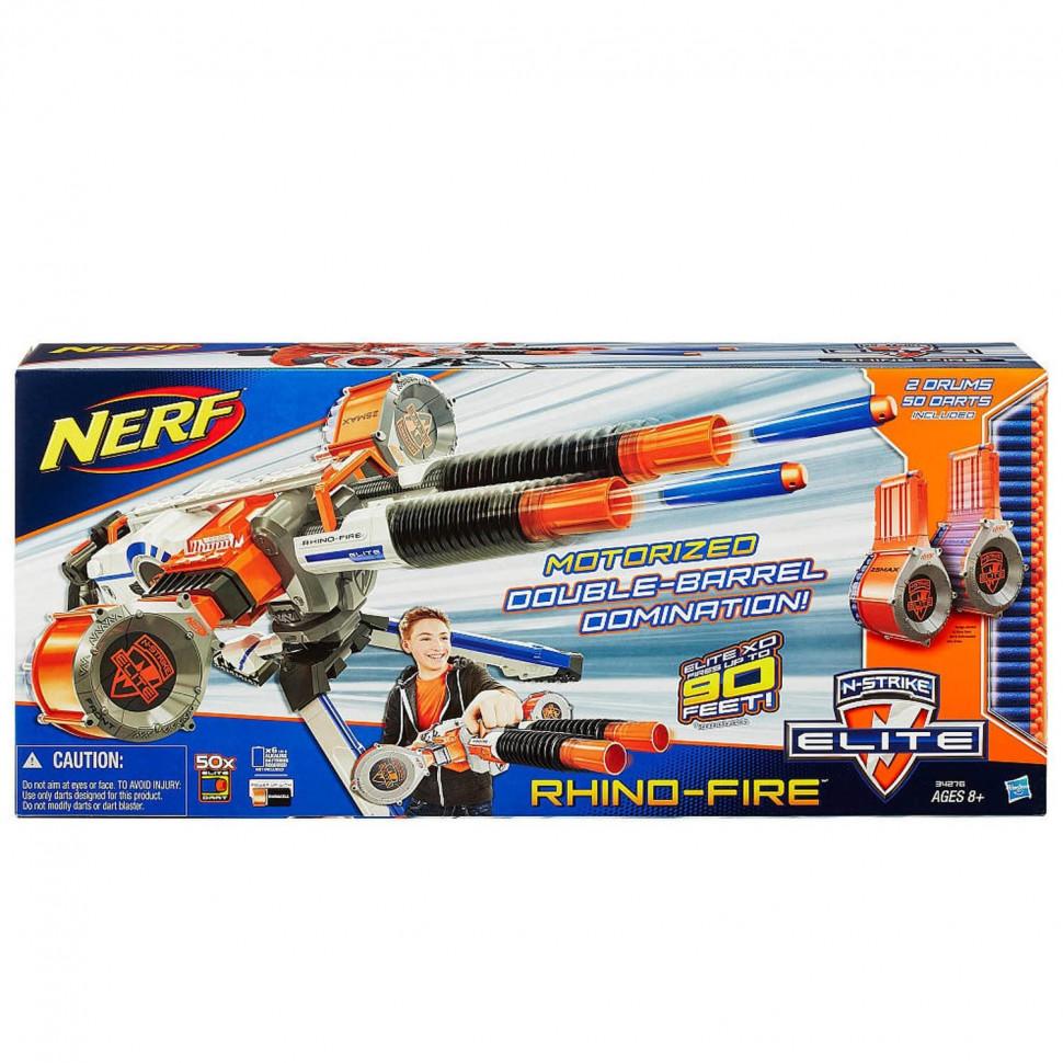 бластер Nerf элит ринофайр нерф Hasbro купить недорого