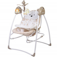 Электрокачели Baby Care Butterfly 2 в 1 SW110 2-IN-1