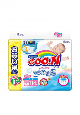 Подгузники GooN NB Ultra Jumbo Pack 0-5 кг 114 шт