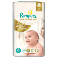 Подгузники Pampers Premium Care Midi 5-9 кг 60 шт (3)