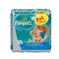 Салфетки Pampers Baby Fresh (3+1)х64 з/блок