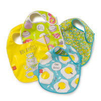 Нагрудник на липучке Happy Baby WATERPROOF BABY BIB 16009