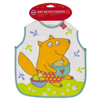 Нагрудный фартук Happy Baby BABY BIB WITH HANGERS 16011