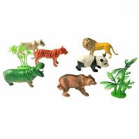 Набор Наша игрушка диких животных 9 см 6 шт