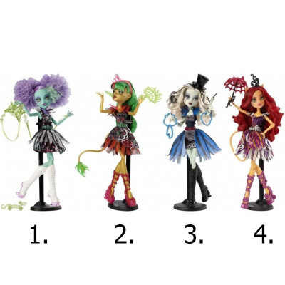 Кукла Mattel MONSTER HIGH ШАПИТО CHY01