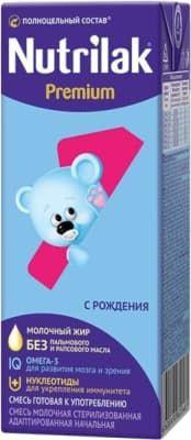 Молочная смесь Nutrilak Premium 0-6 месяцев Нутрилак ТетраПак 200 мл