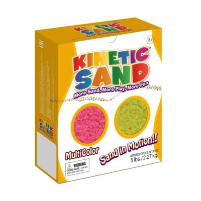 Песок WABA FUN Kinetic Sand 2,27 килограмм 2 цвета