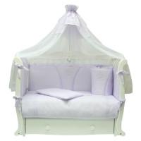 Комплект в кроватку Happych Алина 12 предметов Сиреневый