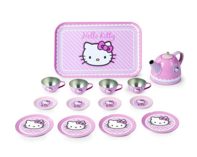 Набор посудки Smoby 14 предметов Hello Kitty