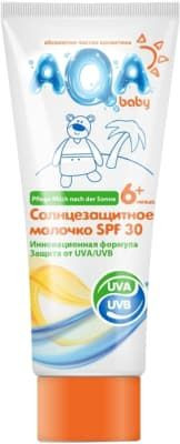 Солнцезащитное молочко Sanosan AQA baby SPF 30 150 мл 02012203