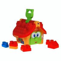 Логический домик Полесье Маленький строитель в сеточке