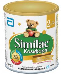 Детская молочная смесь Similac Comfort 2 с рождения 375 г