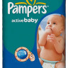 Подгузники Pampers Active Baby Midi 4-9 кг 70 шт (3)