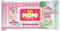 Салфетки MOMI Family влажные 80 шт