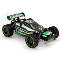 Машина BALBI Багги на ру 1:20 черно-зеленый RCS-5201-G