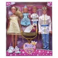 Куклы Simba Штеффи Кевин Еви Тимми Королевская семья 5733184