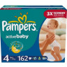 Подгузники Pampers Active Baby Maxi 7-14 кг 162 шт Мега (4)