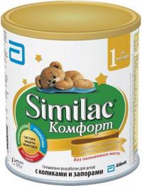 Детская молочная смесь Similac Comfort 1 с рождения 375 г