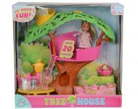 Кукла Simba Еви набор домик на дереве 5734881