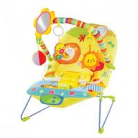 Кресло-качалка Жирафики Сафари с зеркальцем вибрацией и музыкой 939430