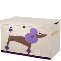 Сундук ящик для хранения игрушек 3 Sprouts Пудель с крышкой 27256