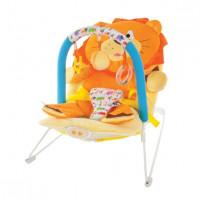 Кресло-качалка Жирафики Львёнок с вибрацией и музыкой 939433