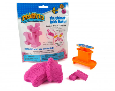 Масса для лепки Waba Fun MAD MATTR The Ultimate Brick Maker Pink