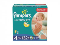 Подгузники Pampers Active Baby-Dry Maxi 7-14 кг 132 шт Мега(4)