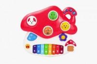 Музыкальная игрушка Жирафики Грибок со светом 939586