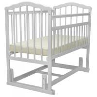 Кроватка MALIKA MELISA 4 поперечного качания без ящика