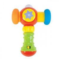 Развивающая игрушка Жирафики Сияющий молоточек с музыкой и светом 939399