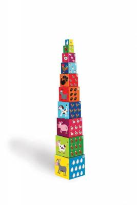 Кубики SCRATCH 6181030 Stacking Tower Farm