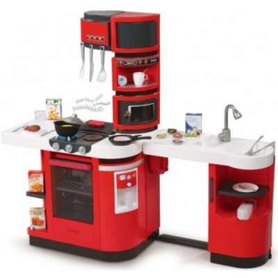 Кухня Smoby Cook Master Red 110*34*99см