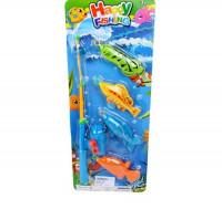 Рыбалка Наша Игрушка удочка 4 фигурки 638858