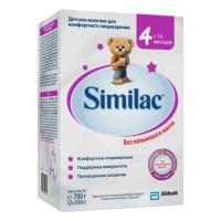 Детская смесь Similac 4 картон 700 гр с 18 мес