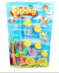 Рыбалка Наша игрушка 2 удочки 9 фигурок 2 сита 638863