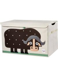 Сундук ящик для хранения игрушек 3 Sprouts Коричневый буйвол 00017