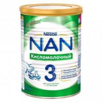 Молочная смесь Nestle NAN Кисломолочный 3 с 12 месяцев 400 гр